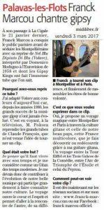 Franck Marcou revisite le tube volare