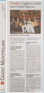 concert à la Cigale à paris avec franck marcou et los ninos de la noche gipsy flamenco pop latino clubing